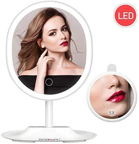 Specchio LED regolabile 120° 2.9€