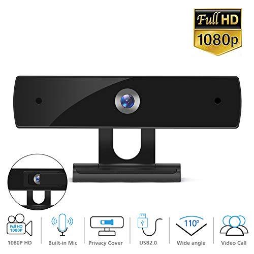 Webcam FHD 1080P con Microfono