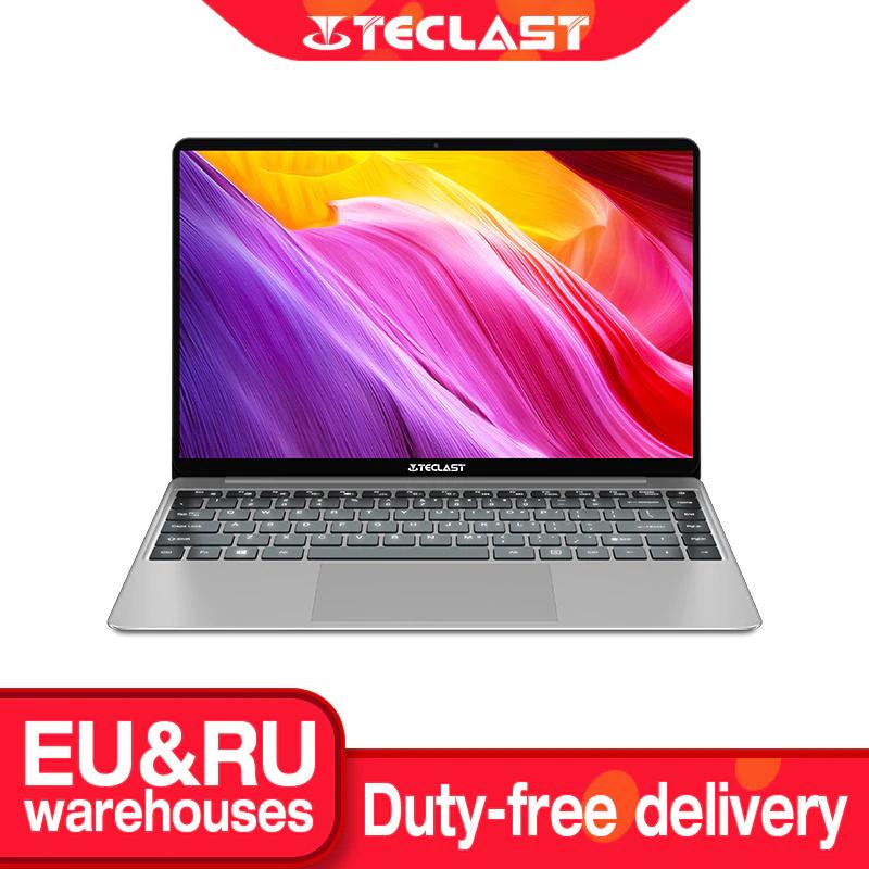 TECLAST F7 PLUS Notebook 14.1 Pollici 256 GB SSD, 8 GB RAM, Intel Celeron N4100, Graphics 600, Windows 10 Grigio