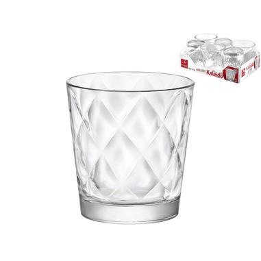 Bormioli Rocco Vassoio 6 Bicchieri 24cl