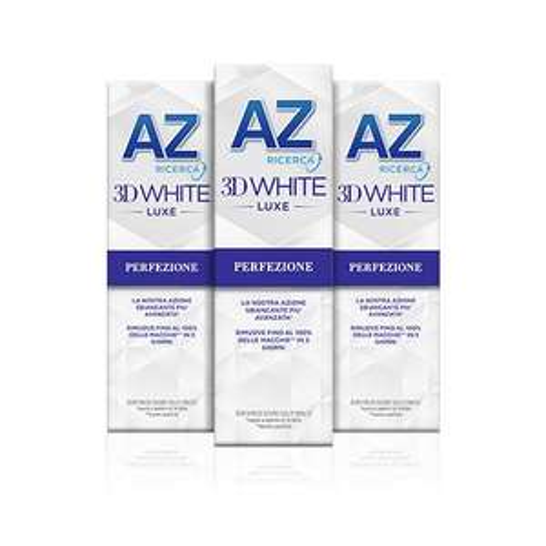 3x 75mlDentifricio 3D White Luxe