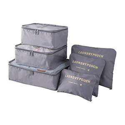 6 pezzi organizer valigie