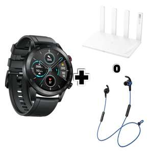 HONOR MAGICWATCH 2 46MM + Honor Router 3 (o Honor Cuffie Sport Bluetooth)