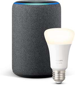 Echo Plus (2ª generazione) + Philips Hue White Lampadina