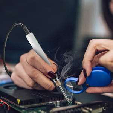 Saldatore elettrico USB Temperatura regolabile DC 5V 8W