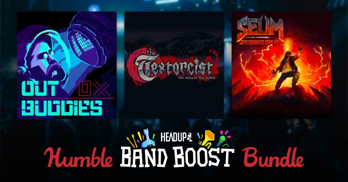 Humble Bundle: HEADUP GAMES BAND BOOST BUNDLE