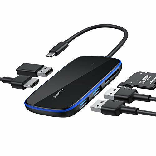 AUKEY Hub USB C Adattatore 6 in 1