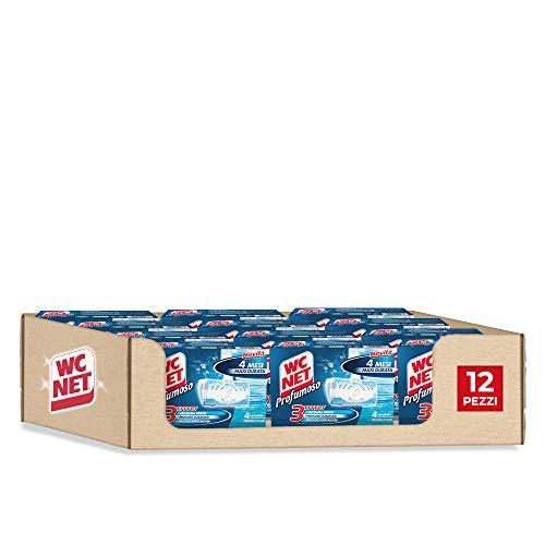 4x12 confezioni WC Net - Tavoletta Solida Profumoso Ocean Fresh