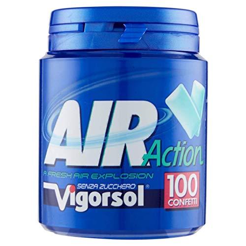 100 confetti Vigorsol Air Action Gomme da masticare