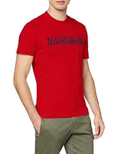 T-Shirt NAPAPIJRI Solanos rossa
