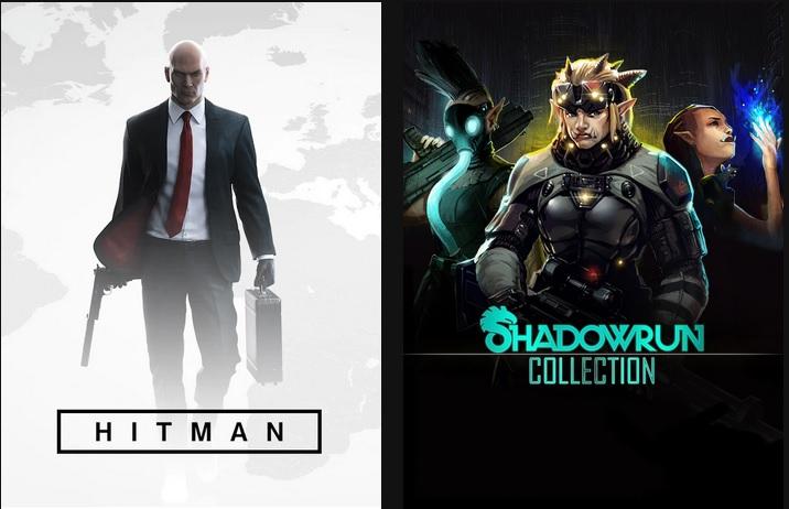 Epic Games - giochi PC gratis: HITMAN & Shadowrun Collection