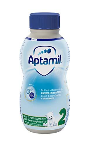 12x 500 ml Aptamil 2 Latte Liquido