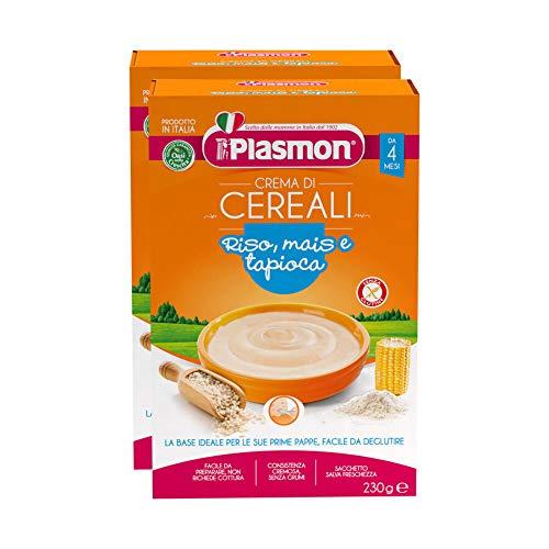 2x 230gr Plasmon Cereali Crema di Riso Mais e Tapioca
