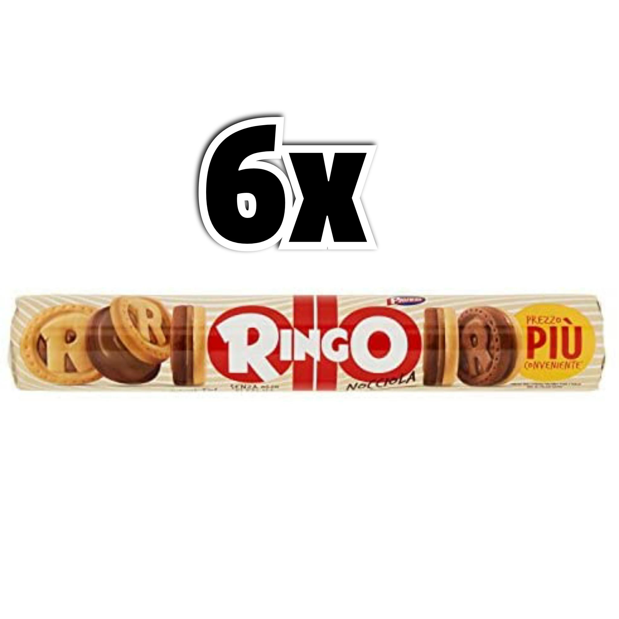 6x155gr Ringo Biscotti, Nocciola