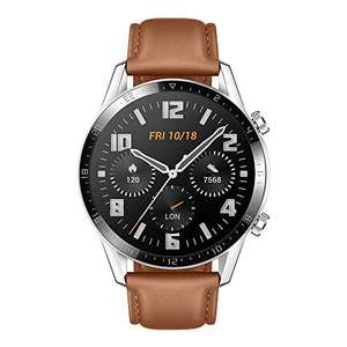 HUAWEI Watch GT 2 Smartwatch 46 mm Pebble Brown