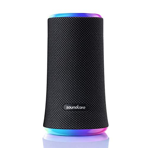 Soundcore Flare 2 Altoparlante Bluetooth Anker, impermeabile IPX7, audio a 360° per riproduzione, altoparlante wireless da 20 W