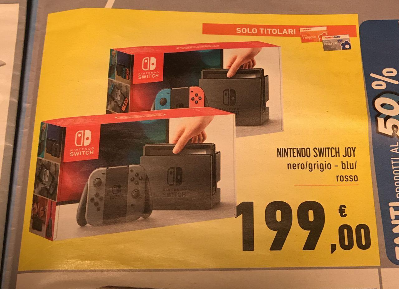 Nintendo Switch Offerta locale Spazio Conad