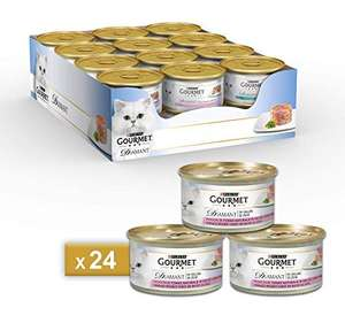 Purina Gourmet 24x85g Cibo umido per gatti