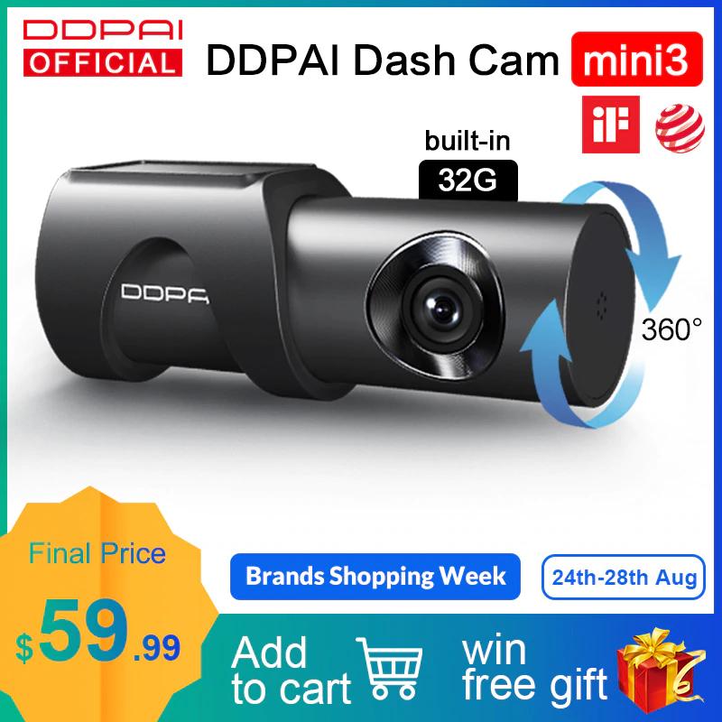 Videocamera Per Auto DDPai Mini 3