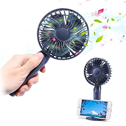 Mini Ventilatore 3 velocità USB 2500mAh,