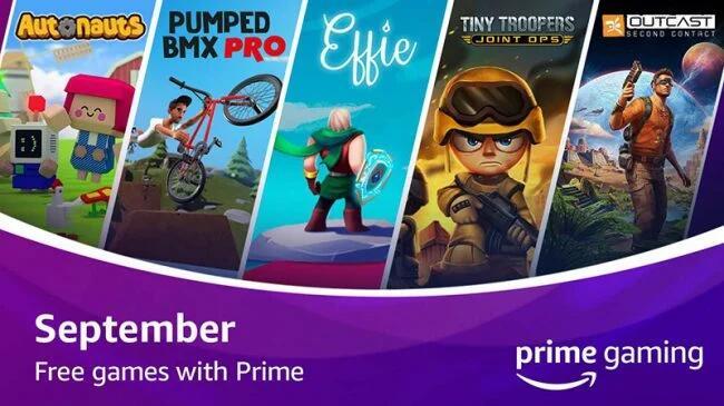 Prime Gaming Giochi Gratis Settembre 2020
