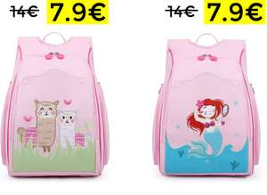 Zaino Scuola Per Bambina 7.9€