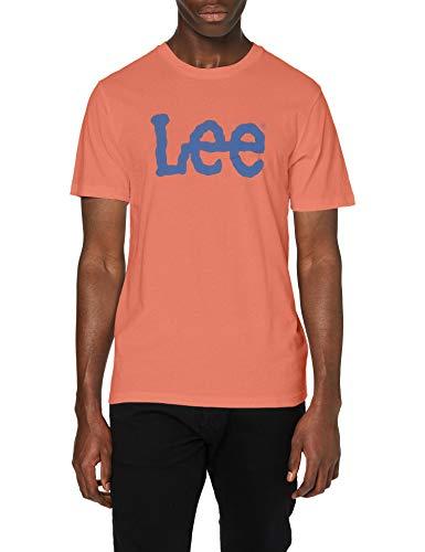 T-Shirt Lee uomo color paprika