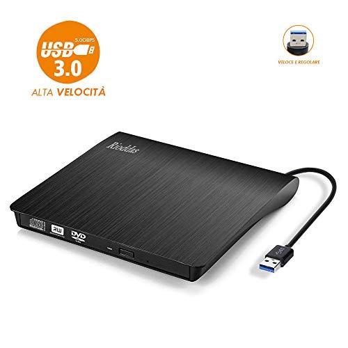 Masterizzatore DVD/CD esterna USB3.0