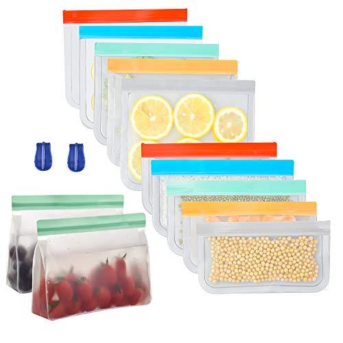 14 Sacchetti per alimenti riutilizzabili