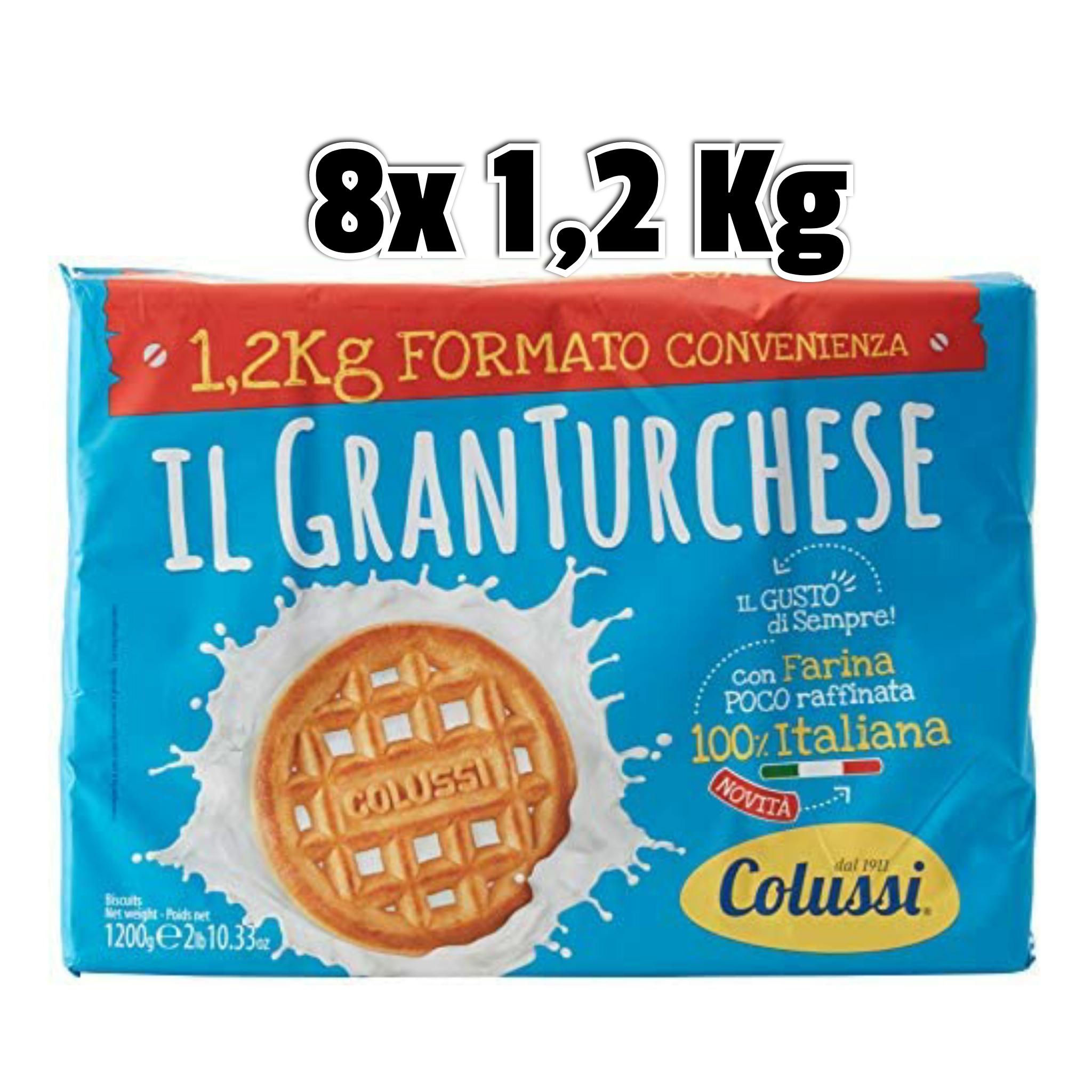 8x 1,2 Kg Colussi Biscotti Il Granturchese