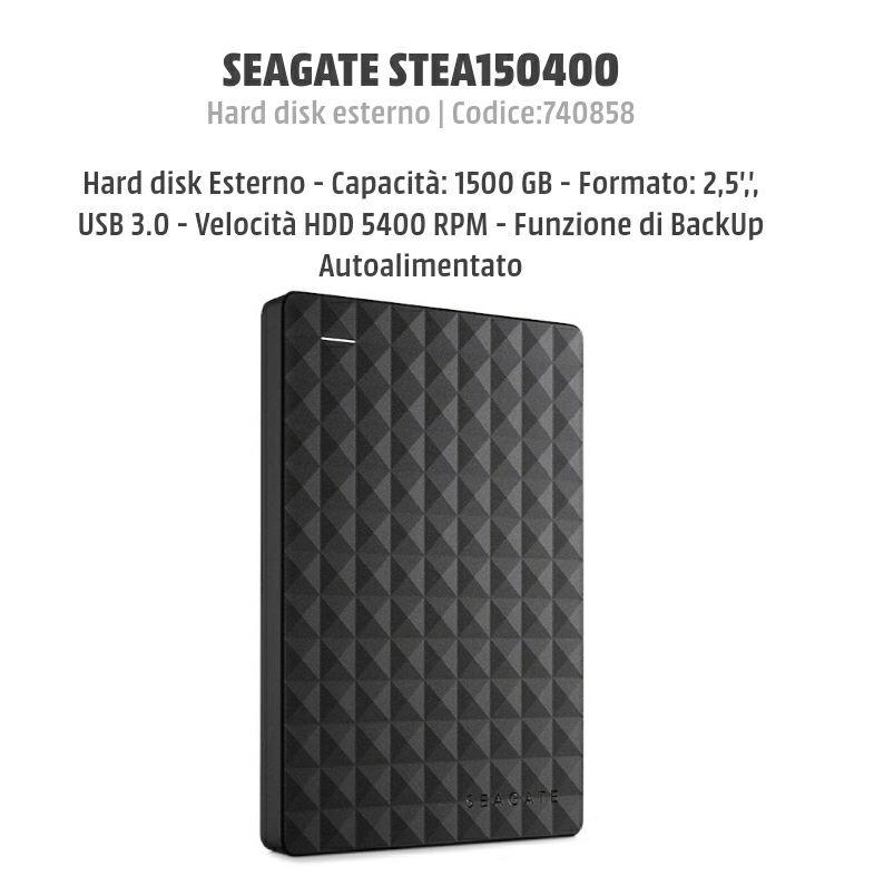 Hard disk 1.5TB / 1500 GB Seagate (SOLO ONLINE)