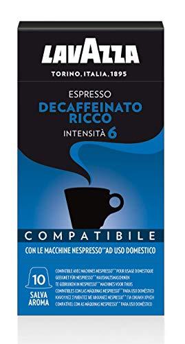 100 Capsule Lavazza Espresso Decaffeinato Ricco
