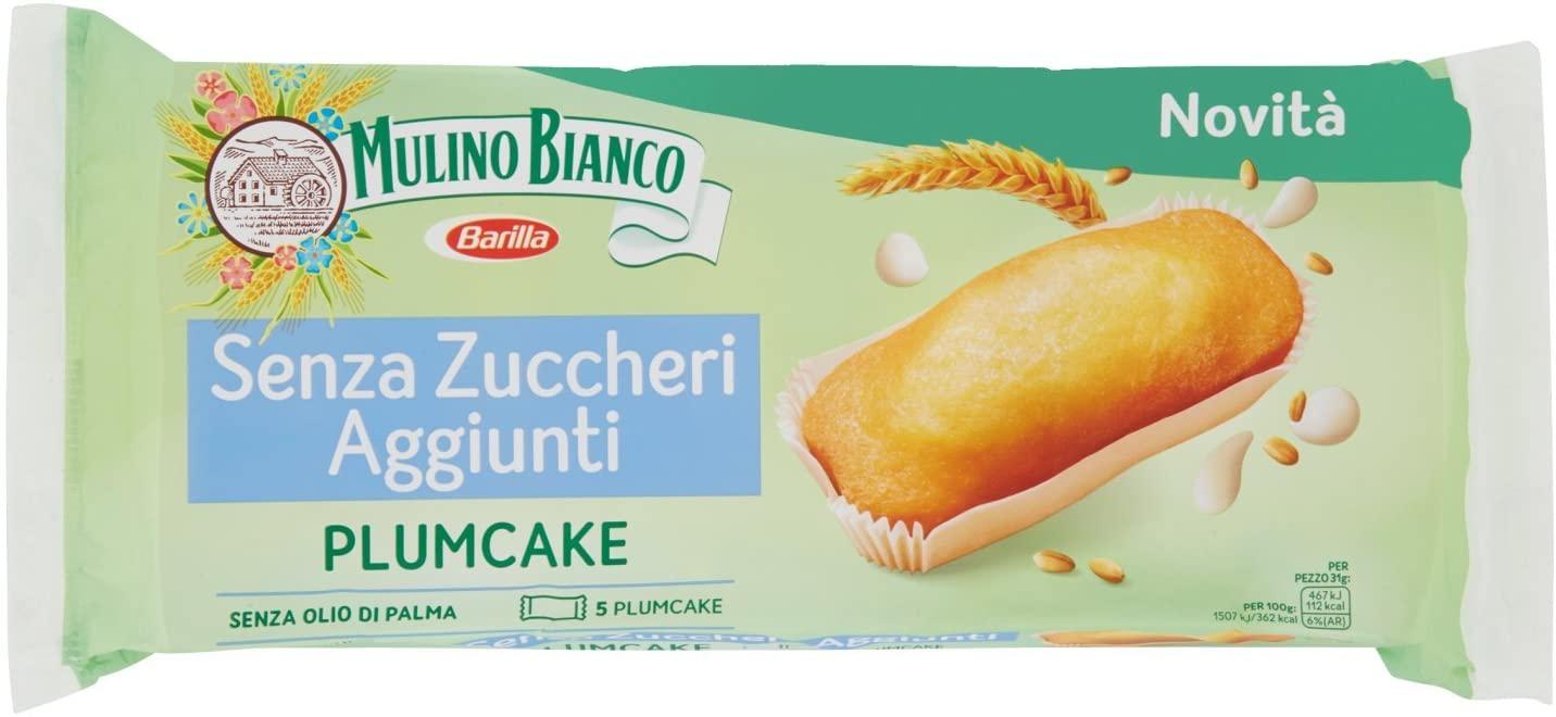 Mulino Bianco Plumcake senza zuccheri aggiunti