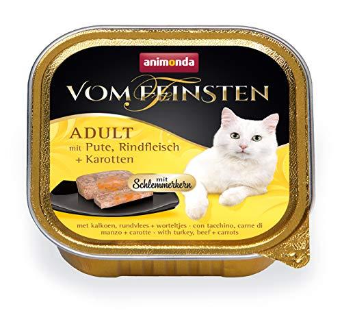32x100gr Animonda cibo per gatti adulto pollo e carote