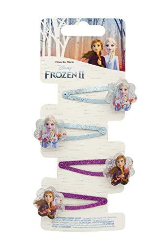 Disney Frozen 2 fermacapelli, Multicolore, 19382