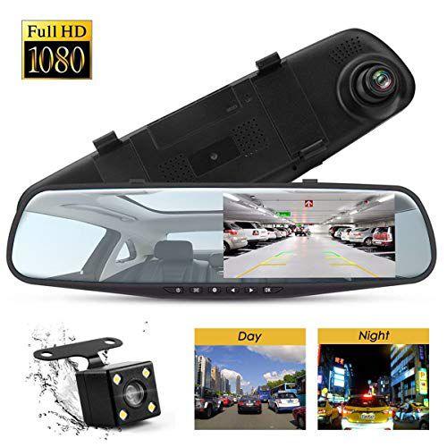 """.3""""1080P Dual Lens Car Auto DVR"""