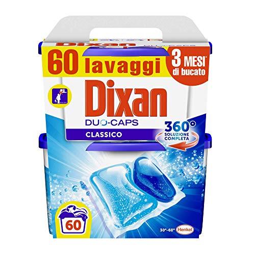 60 caps Dixan Duo Caps Classico Lavatrice