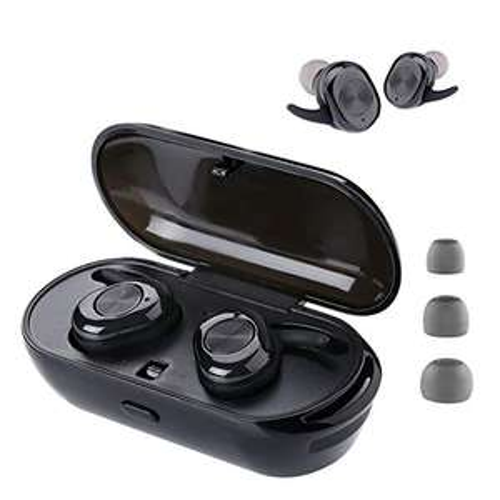 MISO P2 Cuffie Bluetooth on 2 microfoni, 24 Ore di Riproduzione, IPX5, riduzione dei rumori CVC 8.0