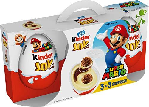 Kinder Joy Super Mario pack da 3