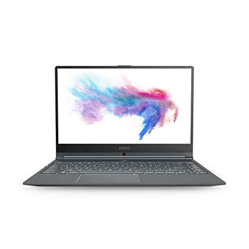 Notebook MSI Modern 14 Intel Core i5-10210U, 8GB RAM, 512GB SSD, Nvidia MX250-2GB Layout ES A10RB-665XES