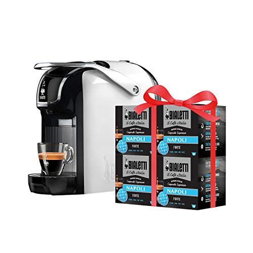 Bialetti Break - Macchina Caffè Espresso a Capsule + 64 Capsule