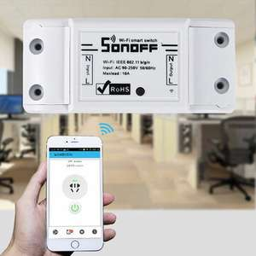 Sonoff Smart WiFi - interruttore telecomando wireless, compatibile con iOS e Android, compatibile con ALEXA, Google Home