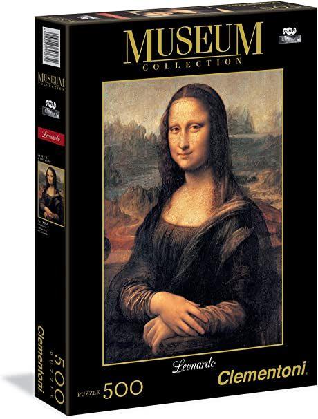Puzzle 500 pezzi Mona Lisa