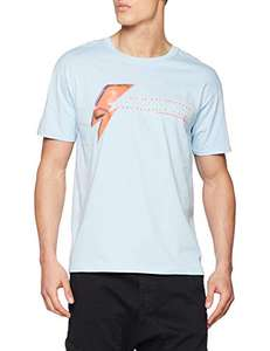 Rock Off David Bowie Aladdin Sane Eye T-Shirt Uomo