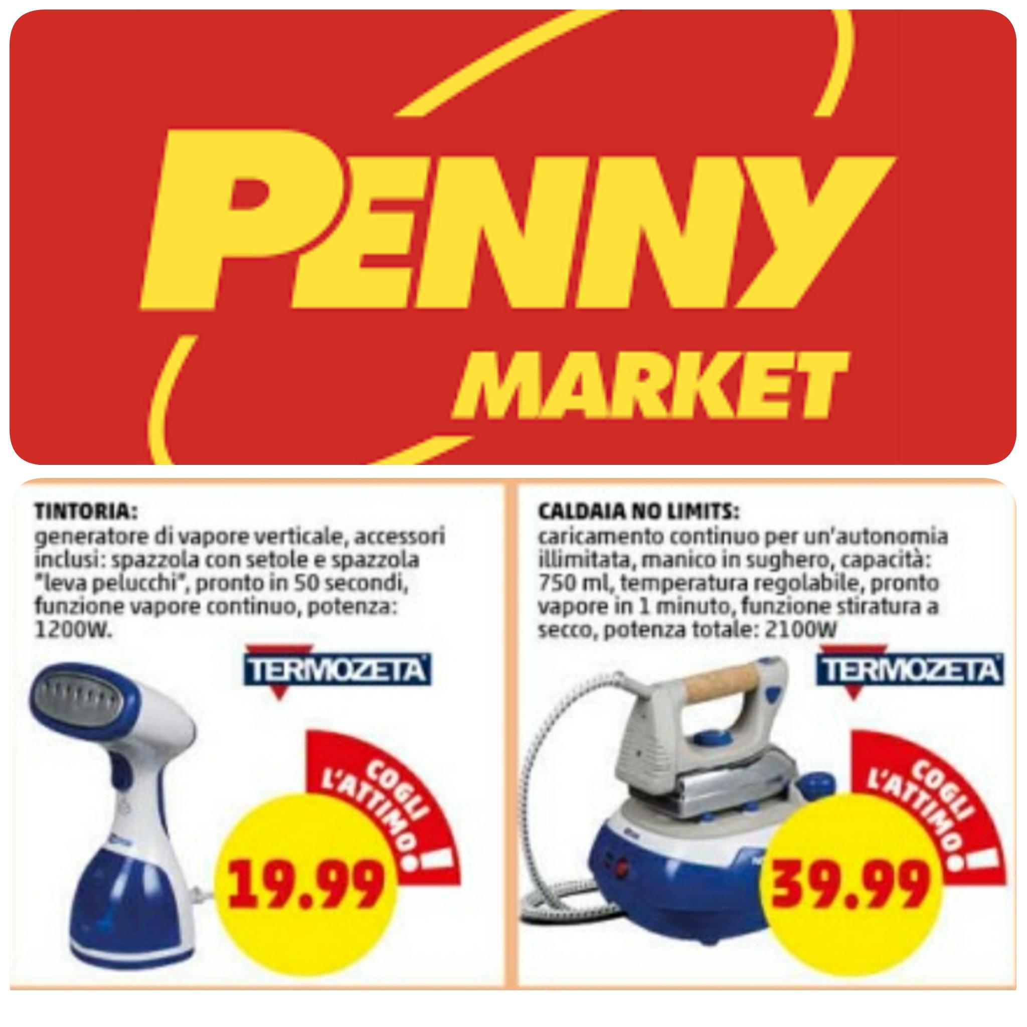 Penny Market - Ferri da Stiro: Tintoria Express e Caldaia No Limits