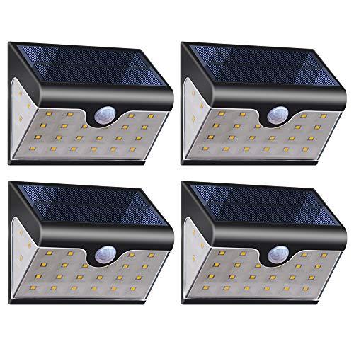 4 Faretti Solari da Esterno