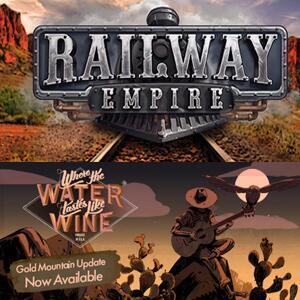 Epic Games - giochi PC gratis : Railway Empire & Where The Water Tastes Like Wine