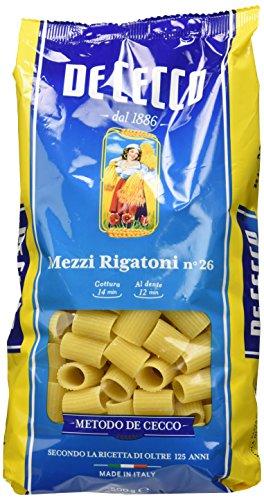 Pasta De Cecco Mezzi Rigatoni 6x500gr