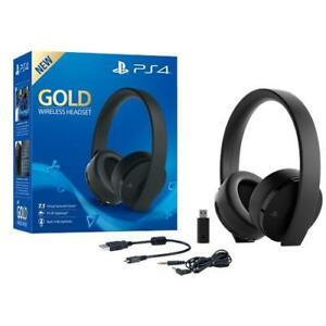 Cuffie SONY Gold wireless per ps4