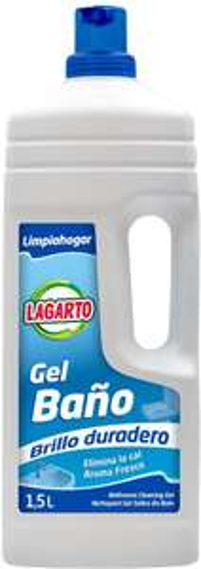 Lucertola limpiahogar Gel Bagno – Confezione di 9 x 1500 ml – Totale: 13500 ml